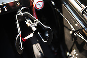 April 22-24, 2016: NHRA 4 Wide Nationals: Steering wheel of a Top Fuel dragster