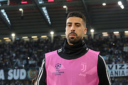 October 2, 2018 - Turin, Piedmont, Italy - Sami Khedira (Juventus FC) during the Juventus FC UEFA Champions League match between Juventus FC and Berner Sport Club Young Boys at Allianz Stadium on October 02, 2018 in Turin, Italy..Juventus won 3-0 over Young Boys. (Credit Image: © Massimiliano Ferraro/NurPhoto/ZUMA Press)