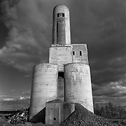 East Sullivan Mine, Val d&rsquo;Or, Quebec, 1949-1960<br /> Copper/Zinc/Gold/Silver Mine. During its peak years, the mine produced three million tonnes of ore a year. The shaft reached 3,950 feet deep.<br /> (Credit Image: &copy; Louie Palu/ZUMA Press)
