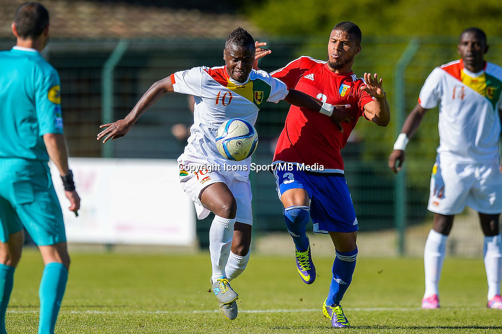 Yalany Baio / Morgan Betorangal  - 06.06.2015 - Guinee / Tchad - Match amical<br />