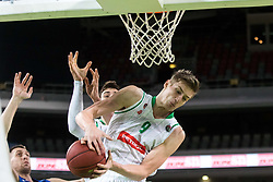Luka Samanic of Petrol Olimpija during 2nd leg basketball match between KK Petrol Olimpija and KK Rogaska in quarter final of  Pokal SPAR 2018/19, on January 14, 2019 in Arena Stozice, Ljubljana, Slovenia. Photo by Matic Ritonja / Sportida