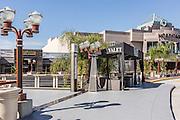 Valet Parking at Main Place Mall Santa Ana California