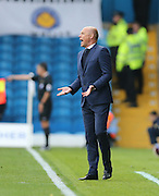 Leeds United manager Uwe Rosler during the Sky Bet Championship match between Leeds United and Brighton and Hove Albion at Elland Road, Leeds, England on 17 October 2015.