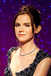 © Licensed to London News Pictures. 22/05/2013. London, UK. A waxwork figure of Harry Potter actress Emma Watson is seen in the 'A-List Party' exhibition inside Madame Tussauds in London today (22/05/2013). Photo credit: Matt Cetti-Roberts/LNP