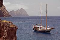 Mission: Monk Seal <br /> Desertas Islands – Deserta Grande - Madeira, Portugal. August 2009.<br /> Landscape