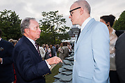 MICHAEL BLOOMBERG, HANS-ULRICH OBRIST, The Serpentine Party pcelebrating the 2019 Serpentine Pavilion created by Junya Ishigami, Presented by the Serpentine Gallery and Chanel,  25 June 2019