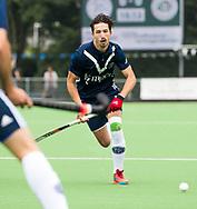 AMSTELVEEN - Tom van de Rijt (Pinoke)   Play Outs Hockey hoofdklasse. Pinoke-Nijmegen (1-1) . Pinoke wint de shoot outs en blijft in de hoofdklasse. COPYRIGHT KOEN SUYK