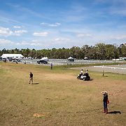 Main ring at the Red Hills International Horse Trials in Tallahassee, Florida.