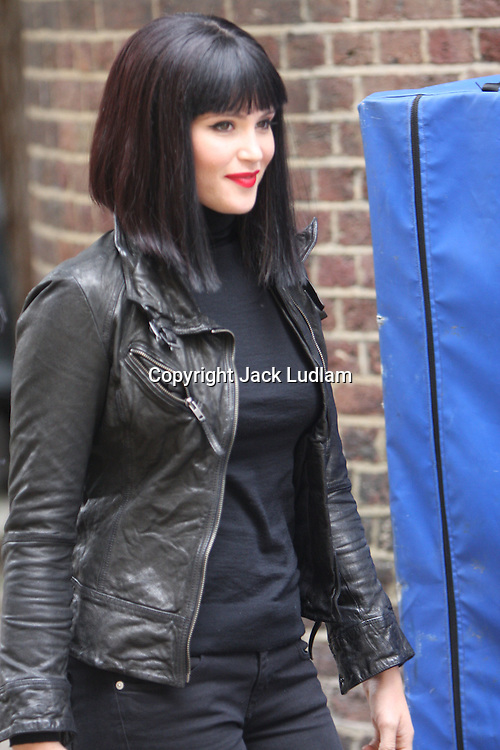 BOND GIRL GEMMA ARTERTON AND TALLULAH RILEY BEGIN FILMING THE SECOND  ST TRINIANS FILM IN LONDON PIC JACK LUDLAM 07887 590 968 MUST BYLINE