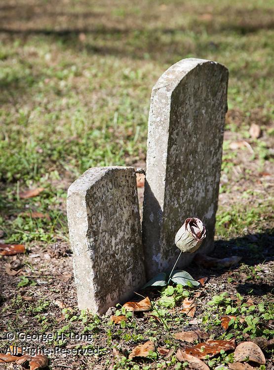 St. Raphael Cemetery on River Road near Plaquemine, Louisiana