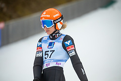 KRAMER Marita (AUT) during second round on day 2 of  FIS Ski Jumping World Cup Ladies Ljubno 2020, on February 23th, 2020 in Ljubno ob Savinji, Ljubno ob Savinji, Slovenia. Photo by Matic Ritonja / Sportida