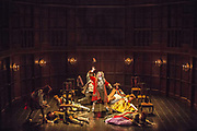 UNITED KINGDOM, London: 06 July 2017. Rehearsals get underway in preparation for the thirteen week showing of Queen Anne at the Theatre Royal Haymarket. The gripping new play, presented by The Royal Shakespeare Company explores the life of one of England's little-known sovereigns and her intimate friendship with her childhood confidante. Opening night is Monday 10 July at 7pm. (Centre stage is Michael Fenton Stevens)<br /> Rick Findler / Story Picture Agency