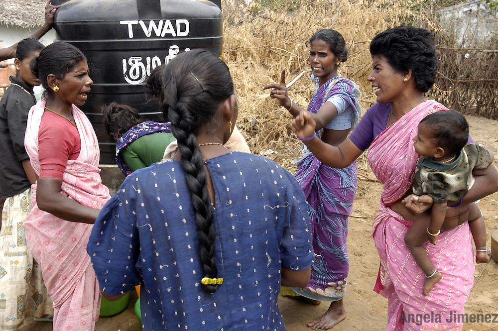 The Small Coastal Fishing Villages Of Tamil Nadu India
