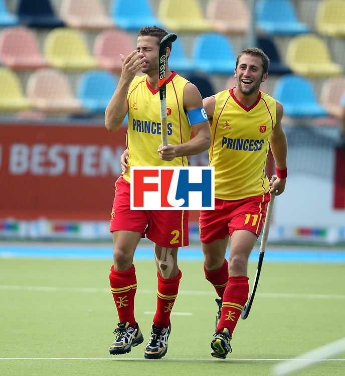 Mens Champions Trophy, Monchengladbach 2010<br /> Day 3, Spain v Germany 3/8/10<br /> Credit: Grant Treeby<br /> Editorial use only(No Archiving)