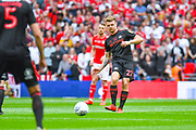 Max Power of Sunderland (27) kicks off during the EFL Sky Bet League 1 play off final match between Charlton Athletic and Sunderland at Wembley Stadium, London, England on 26 May 2019.