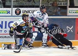 05.11.2010, Eishockeystadion, Szekesfehervar, HUN, EBEL, SAPA Fehervar AV19 vs Moser Medical Graz 99ers, im Bild OUELLETTE (28), EXPA Pictures © 2010, PhotoCredit: EXPA/ A. Kovacs