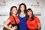 Step Up Teen Becca, Step Up Executive Director Jenni Luke and Step Up student
