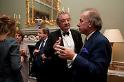 CHRISTOPHER SIMON SYKES; DAVID CAMPBELL, David Campbell and Knopf host the 20th Anniversary of the revival of Everyman's Library. Spencer House. St. James's Place. London. 7 July 2011. <br /> <br />  , -DO NOT ARCHIVE-© Copyright Photograph by Dafydd Jones. 248 Clapham Rd. London SW9 0PZ. Tel 0207 820 0771. www.dafjones.com.