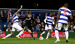Solly March of Brighton & Hove Albion shoots at goal - Mandatory by-line: Robbie Stephenson/JMP - 07/04/2017 - FOOTBALL - Loftus Road - Queens Park Rangers, England - Queens Park Rangers v Brighton and Hove Albion - Sky Bet Championship