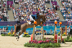 Delestre Simon (FRA) - Napoli du Ry<br /> Olympic Games London 2012<br /> © Dirk Caremans