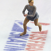 Barbie Long competes during the championship ladies free skate at the 2014 US Figure Skating Championships at the TD Garden on January 11, 2014 in Boston, Massachusetts.