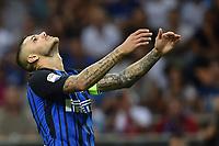 Mauro Icardi Inter <br /> Milano 20-08-2017 Stadio Giuseppe Meazza <br /> Calcio Serie A Inter - Fiorentina Foto Andrea Staccioli Insidefoto
