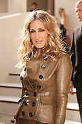 Actress Sarah Jessica Parker attends the Burberry Prorsum Spring/Summer 2011 fashion show during LFW at Chelsea College of Art and Design on September 21, 2010 in London, England..© Antony Jones...Data Center Dynamics 2012 Sailing Challenge.