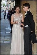ANNE STELZER; ALISTAIR SOMERVILLE The Tercentenary Ball, Worcester College. Oxford. 27 June 2014