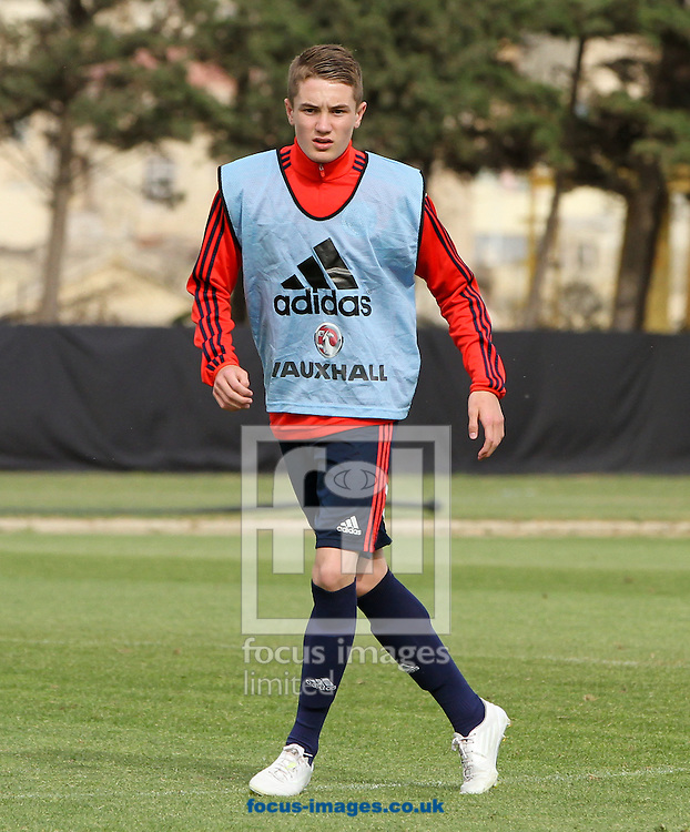 Scott Wright of Scotland trains at the Hibernians Stadium, Paola<br /> Picture by Tom Smith/Focus Images Ltd 07545141164<br /> 17/05/2014