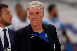 August 27, 2017 - Naples, Naples, Italy - head coach of Atalanta BC Gian Piero Gasperini during the Serie A TIM match between SSC Napoli and Atalanta BC at Stadio San Paolo Naples Italy on 27 August 2017. (Credit Image: © Franco Romano/NurPhoto via ZUMA Press)