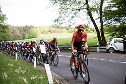 Riejanne Markus (NED) of CCC-Liv Team ascends the first categorised climb of Stage 2 of 2019 Festival Elsy Jacobs, a 111.1 km road race starting and finishing in Garnich, Luxembourg on May 12, 2019. Photo by Balint Hamvas/velofocus.com