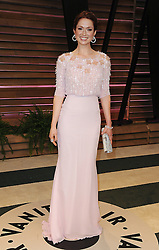 Ellie Kemper arrive at the 2014 Vanity Fair Oscar Party in West Hollywood, California, USA,  Sunday, 2nd March 2014. Picture by Hollywood Bubbles / i-Images<br /> UK ONLY