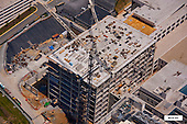 Aerial Photography Building Construction Progress
