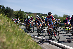 Aafke Soet (NED) of WNT Rotor Pro Cycling descends on Stage 1 of 2019 Emakumeen Bira, a 101 km road race starting and finishing in Iurreta, Spain on May 22, 2019. Photo by Balint Hamvas/velofocus.com