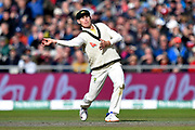 Marnus Labuschagne of Australia during the International Test Match 2019, fourth test, day three match between England and Australia at Old Trafford, Manchester, England on 6 September 2019.