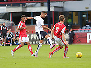 Dundee's Luka Tankulic fires a shot narrowly wide - Dundee v Rotherham United - pre-season friendly at Dens Park <br /> <br />  - &copy; David Young - www.davidyoungphoto.co.uk - email: davidyoungphoto@gmail.com