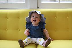 Gemma Marie Palmer 7 months old, Monday, March 19, 2018  at Cedar Shake Shack in Louisville.