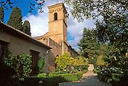 SPAIN, ANDALUSIA, GRANADA Parador Convento de San Francisco