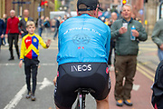 Chris Lawless of Team Ineos during stage four of the Tour de Yorkshire from Halifax to Leeds, , United Kingdom on 4 May 2019.