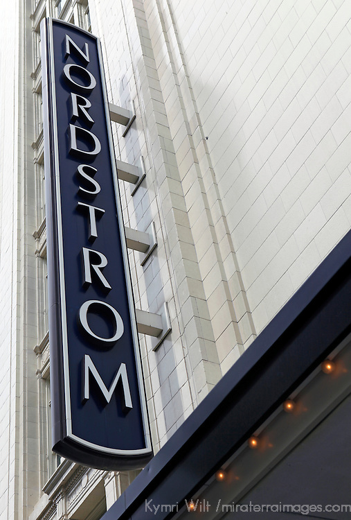 North America, USA, washington. The original Nordstrom Department Store, Seattle