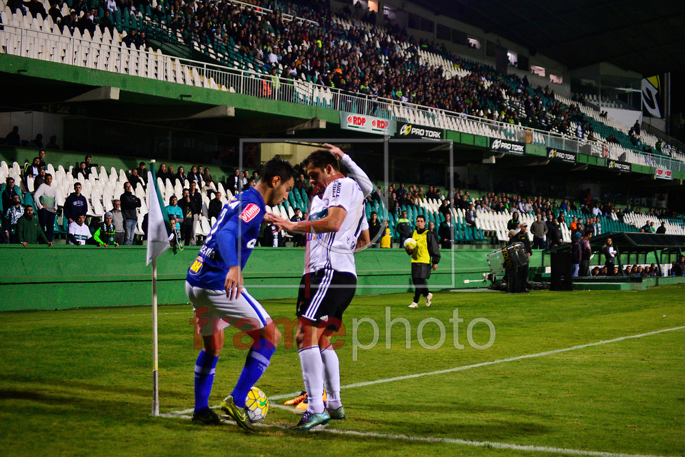 Curitiba(PR)15/05/2016 Coritiba vence o Cruzeiro e larga bem no Brasileirãono estadio Couto Pereira.Coritiba 1x0 Cruzeiro.Gol feito por Kléber Foto: Suellen Lima/ FramePhoto