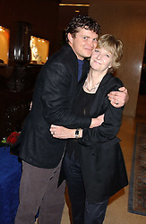 JACK KIDD and his mother WENDY KIDD at the Holders Season Barbados Comes to London night at The Four Seasons Hotel, Hamilton Place, London on 3rd February 2006.<br /><br />NON EXCLUSIVE - WORLD RIGHTS