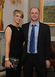 Julie and Peter Moore pictured at the Westport GAA All Ireland celebration banquet.<br />