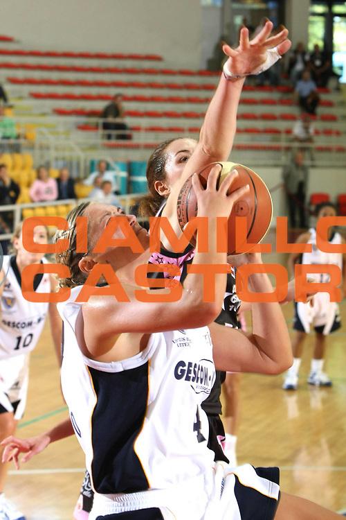 DESCRIZIONE : Roma Lega A1 Femminile 2008-09 Prima giornata Campionato Pool Comense Gescom MCI Viterbo<br /> GIOCATORE : Milica Micovic<br /> SQUADRA : Gescom MCI Viterbo<br /> EVENTO : Campionato Lega A1 Femminile 2008-2009 <br /> GARA : Pool Comense Gescom MCI Viterbo<br /> DATA : 11/10/2008 <br /> CATEGORIA : Tiro<br /> SPORT : Pallacanestro <br /> AUTORE : Agenzia Ciamillo-Castoria/C.De Massis