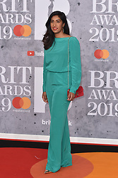 February 20, 2019 - London, United Kingdom of Great Britain and Northern Ireland - Tina Daheley arriving at The BRIT Awards 2019 at The O2 Arena on February 20, 2019 in London, England  (Credit Image: © Famous/Ace Pictures via ZUMA Press)