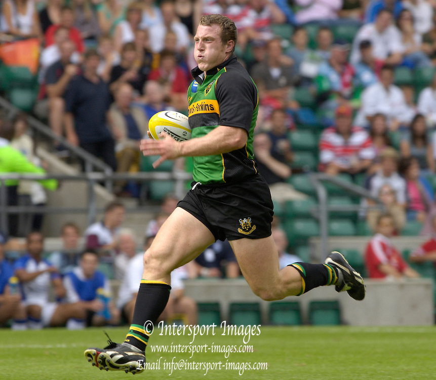 2005 Middlesex Rugby 7's, RFU Twickenham, Surrey, ENGLAND. Bath Rugby vs Northampton Saints, John Rudd,   13.08.2005.  . © Peter Spurrier/Intersport Images - email images@intersport-images..   [Mandatory Credit, Peter Spurier/ Intersport Images].