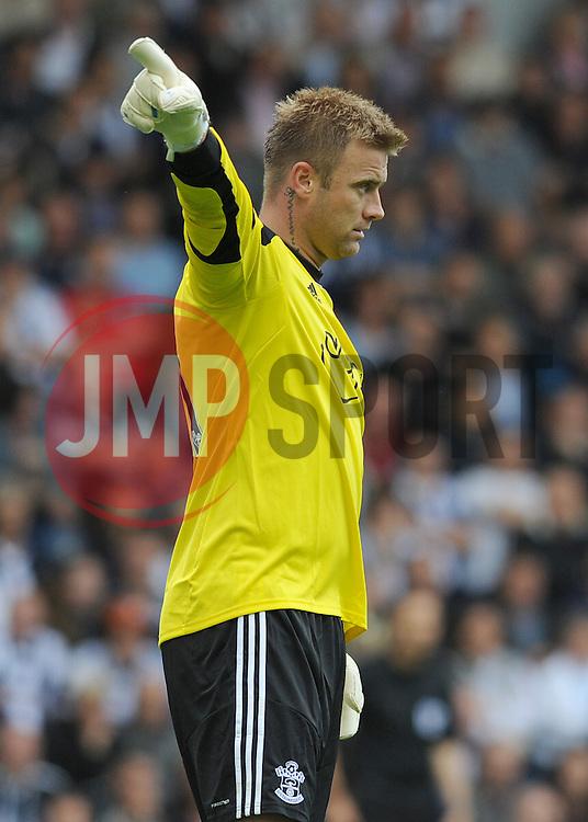 Southampton's Kelvin Davis  - Photo mandatory by-line: Alex James/JMP - Tel: Mobile: 07966 386802 17/08/2013 - SPORT - FOOTBALL - The Hawthorns - West Bromwich -  West Brom V Southampton - Barclays Premier League