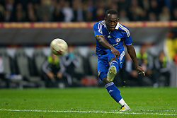 MOSCOW, RUSSIA - Wednesday, May 21, 2008: Chelsea's Michael Essien during the UEFA Champions League Final against Manchester United at the Luzhniki Stadium. (Photo by David Rawcliffe/Propaganda)