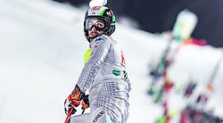 "29.01.2019, Planai, Schladming, AUT, FIS Weltcup Ski Alpin, Slalom, Herren, 1. Lauf, im Bild Stefano Gross (ITA) // Stefano Gross of Italy DNF his 1st run of men's Slalom ""the Nightrace"" of FIS ski alpine world cup at the Planai in Schladming, Austria on 2019/01/29. EXPA Pictures © 2019, PhotoCredit: EXPA/ JFK"