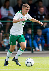 WREXHAM, WALES - Thursday, August 15, 2019: Northern Ireland's Connor Cunningham during the UEFA Under-15's Development Tournament match between Wales and Northern Ireland at Colliers Park. (Pic by Paul Greenwood/Propaganda)